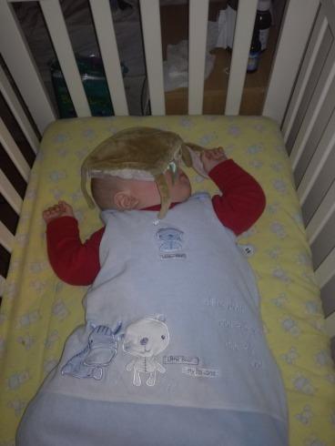 Matthew sleeping